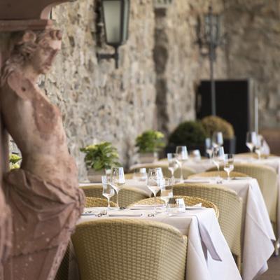 Burgrestaurant Tischreservierung